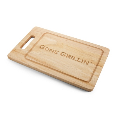 "20"" Handled Grill Maple Cutting Board - UPC 825008331976"