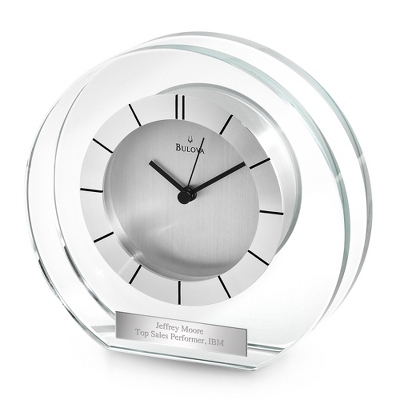 Bulova Accolade Clock - UPC 825008332614