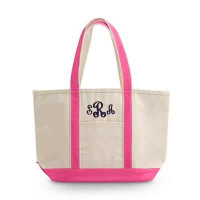 Pink Medium Boat Tote - UPC 825008332669