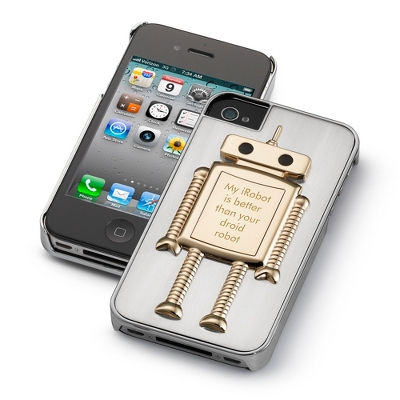 Robot iPhone 4 Case - $25.00