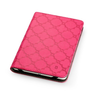 Fuschia Lattice E-Reader Case