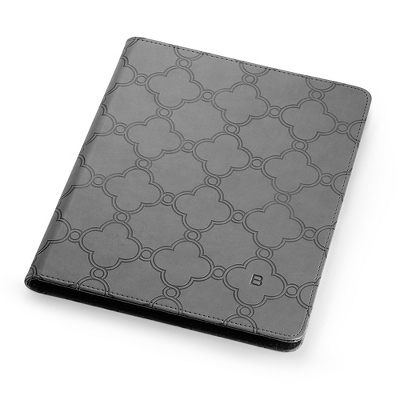 Grey Lattice Ipad Case