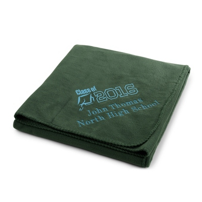 2013 Graduation Forest Fleece Throw - $22.99