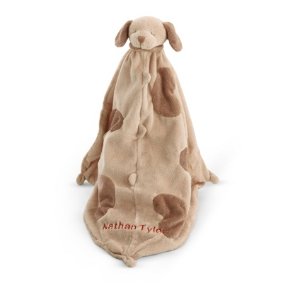 Brown Puppy Blankie - UPC 825008333734