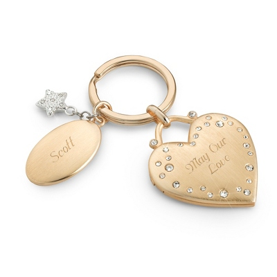 Make-A-Wish Sparkle Key Chain - UPC 825008333918
