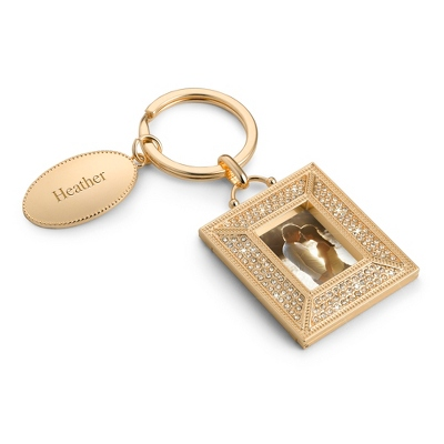 Pave Brilliance Key Chain - Purse Accessories