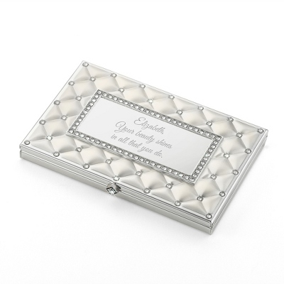 Frosted Elegance Card Case