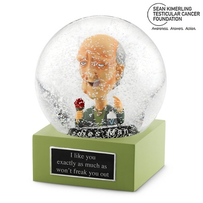 The Ladies Man Water Globe - New Water Globes