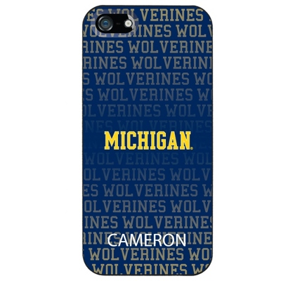 University of Michigan NCAA iPhone 5 Case
