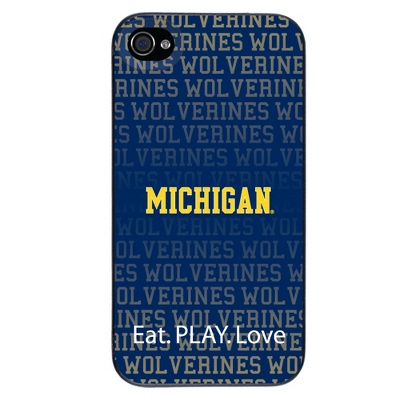 University of Michigan NCAA iPhone 4 Case