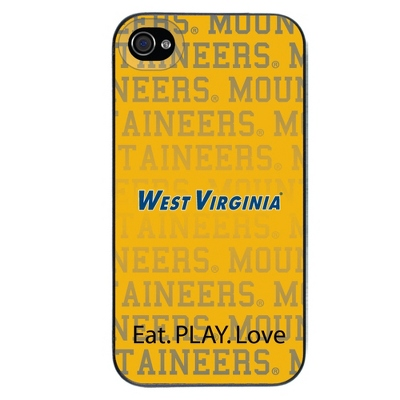 West Virginia University NCAA iPhone 4 Case