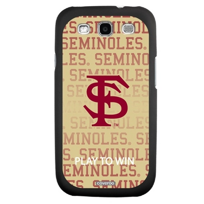 Florida State University NCAA Samsung Galaxy S3 Case - UPC 825008335936