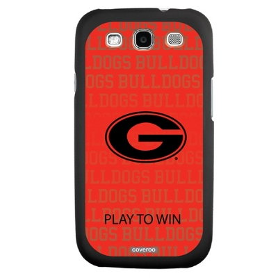 University of Georgia NCAA Samsung Galaxy S3 Case - UPC 825008336032