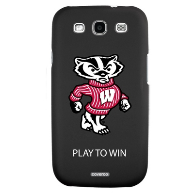 University of Wisconsin NCAA Samsung Galaxy S3 Case - UPC 825008336117