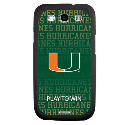 University of Miami NCAA Samsung Galaxy S3 Case