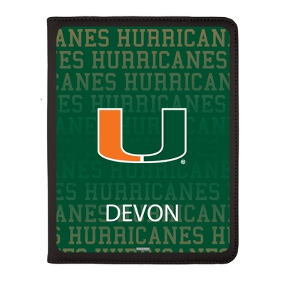 University of Miami iPad Generation 2-4 Swivel Case