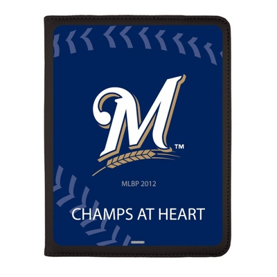 Milwaukee Brewers MLB iPad Generation 2-4 Swivel Case
