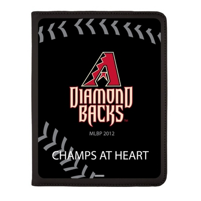 Arizona Diamondbacks MLB iPad Generation 2-4 Swivel Case - UPC 825008336766