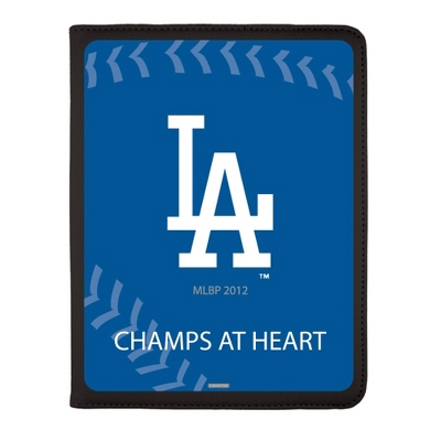 Los Angeles Dodgers MLB iPad Generation 2-4 Swivel Case - UPC 825008336773