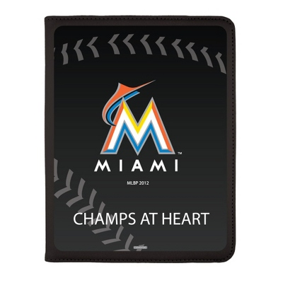 Miami Marlins MLB iPad Generation 2-4 Swivel Case