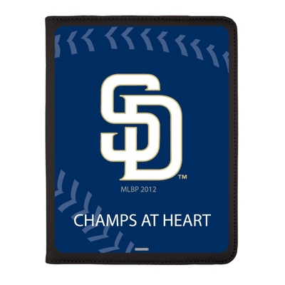 San Diego Padres MLB iPad Generation 2-4 Swivel Case - UPC 825008336858