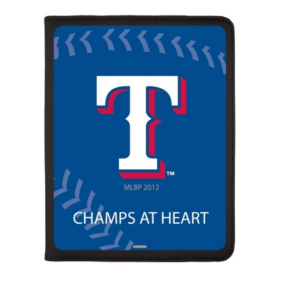Texas Rangers MLB iPad Generation 2-4 Swivel Case - UPC 825008336889
