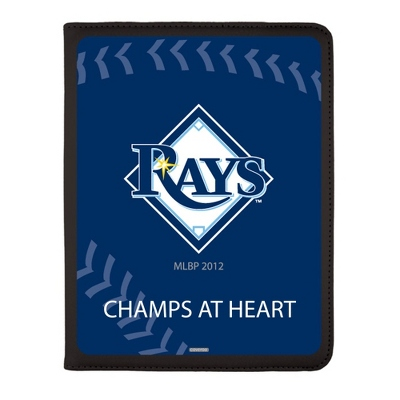 Tampa Bay Rays MLB iPad Generation 2-4 Swivel Case - UPC 825008336896