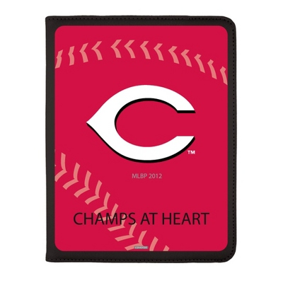 Cincinnati Reds MLB iPad Generation 2-4 Swivel Case - UPC 825008336902