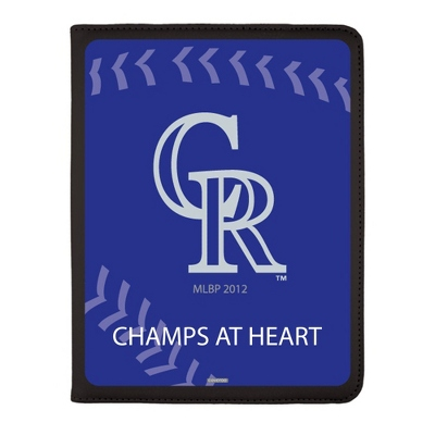 Colorado Rockies MLB iPad Generation 2-4 Swivel Case - UPC 825008336926