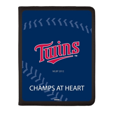 Minnesota Twins MLB iPad Generation 2-4 Swivel Case - UPC 825008336957