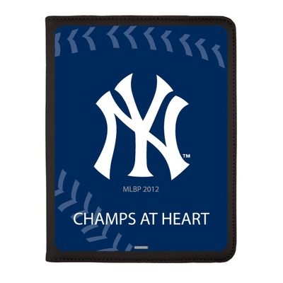 New York Yankees MLB iPad Generation 2-4 Swivel Case - UPC 825008336971