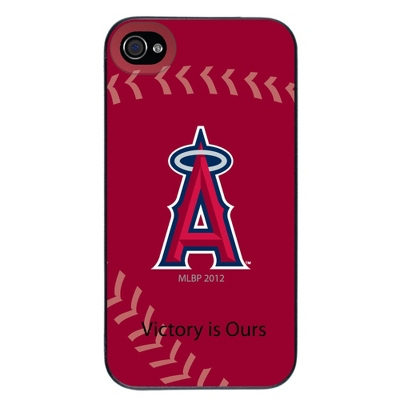 Angels of Anaheim MLB iPhone 4 Case - UPC 825008336988