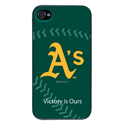 Oakland Athletics MLB iPhone 4 Case - UPC 825008337008