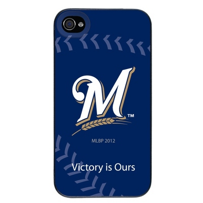 Milwaukee Brewers MLB iPhone 4 Case - UPC 825008337039