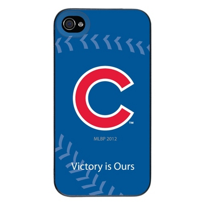 Chicago Cubs MLB iPhone 4 Case - UPC 825008337053