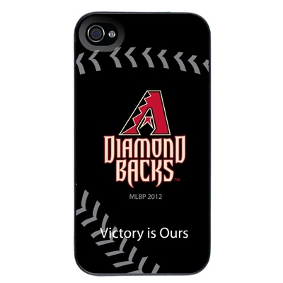 Arizona Diamond Backs MLB iPhone 4 Case - UPC 825008337060