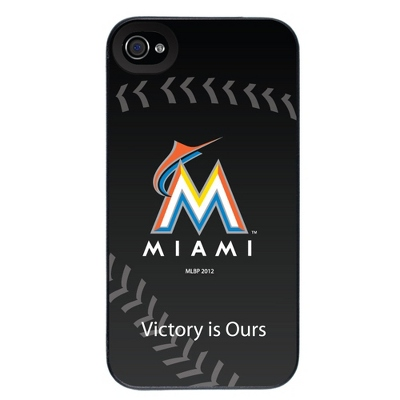 Miami Marlins MLB iPhone 4 Case