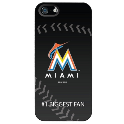 Miami Marlins MLB iPhone 5 Case - UPC 825008337411