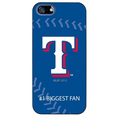 Texas Rangers MLB iPhone 5 Case - UPC 825008337480