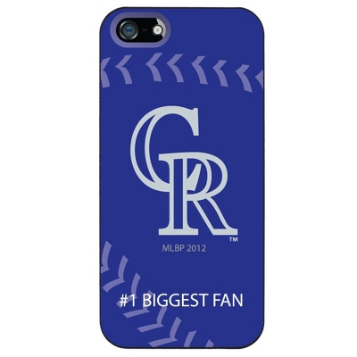 Colorado Rockies MLB iPhone 5 Case - UPC 825008337527