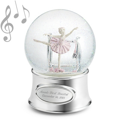 Ballerina Girl Water Globe - $34.99