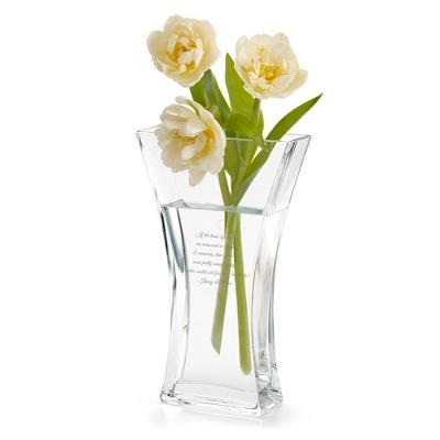 Hourglass Vase - $45.00