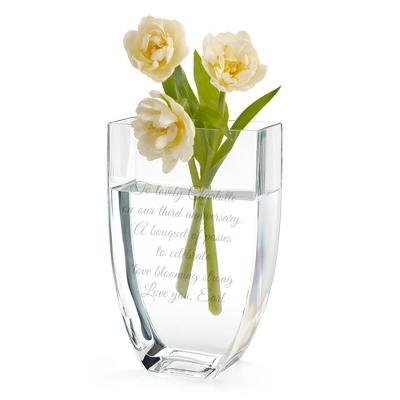 Personalized Vases for Wedding