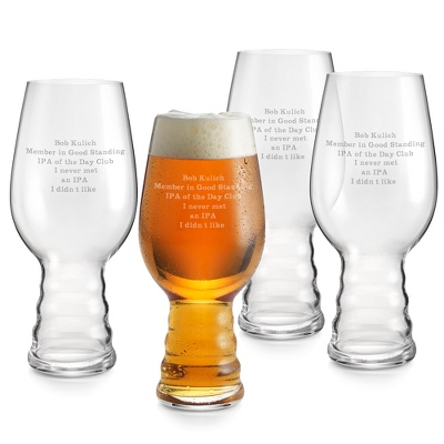 Beer Glasses as Wedding Gifts