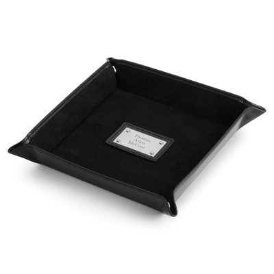 Pebble Grain Catchall Tray - Men's Accessories