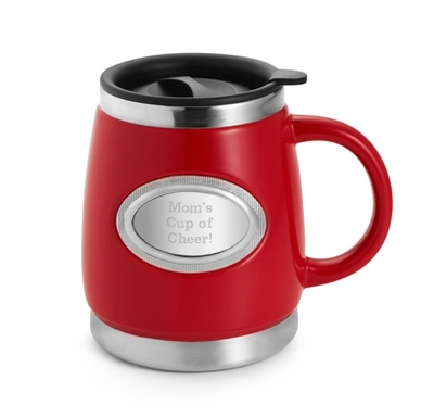 Red Double-Walled Mug
