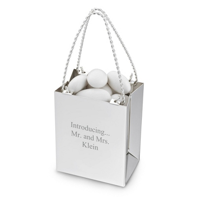Minature Gift Bag Wedding Favor - Wedding Reception