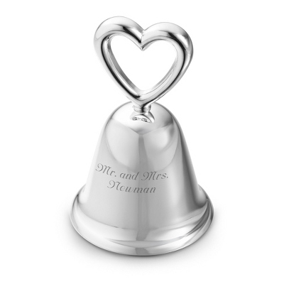 Silver Bell Wedding Favor