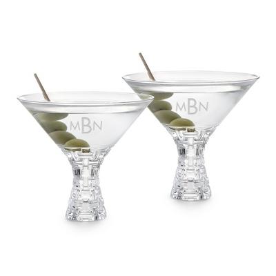 Nachtmann Bossa Nova Set of 2 Martini Glasses - UPC 825008345553