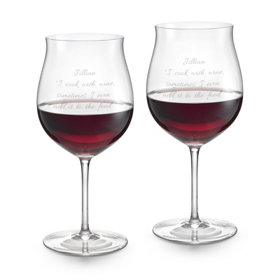 Riedel Sommelier Anniversary Burgundy Set of 2 Glasses - Barware & Accessories